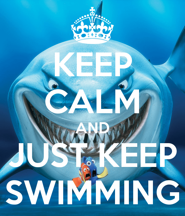 Just Keep Swimming - Profit 911 Business Consulting