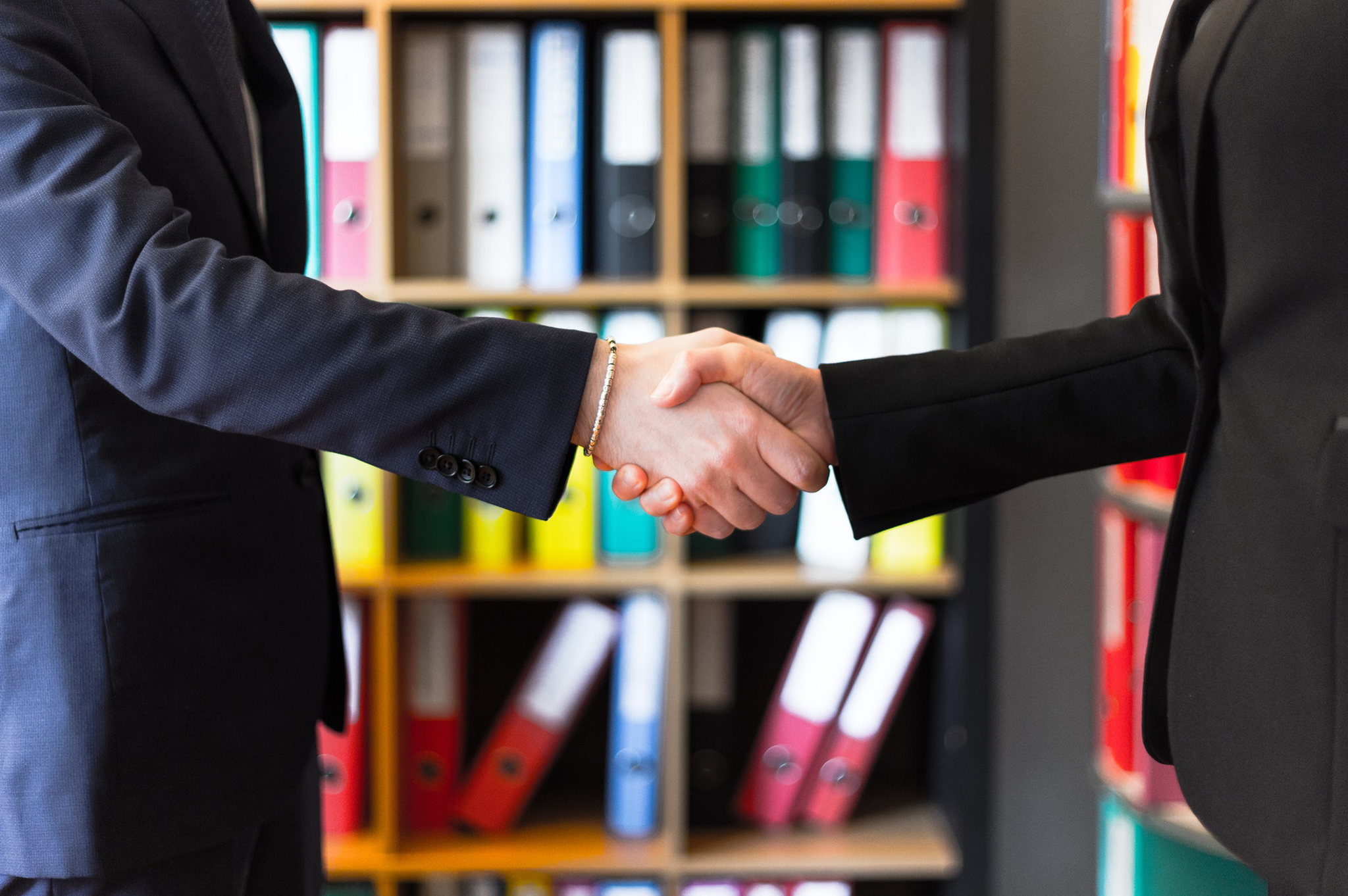 Shaking Hands After The Meeting